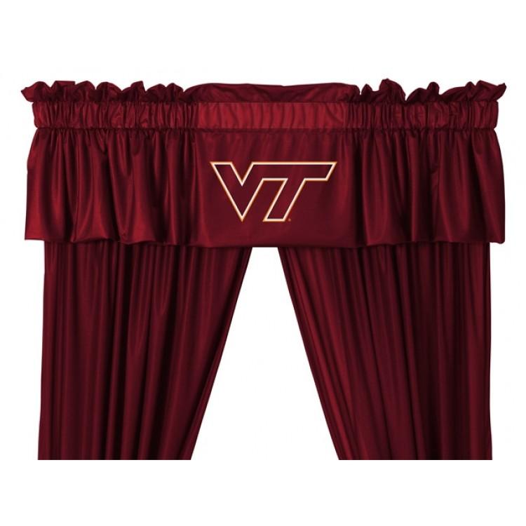 Virginia Tech Hokies Valance