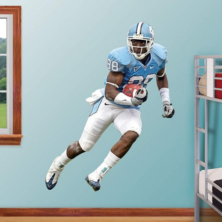 Hakeem Nicks North Carolina Tar Heels REAL.BIG. Fathead