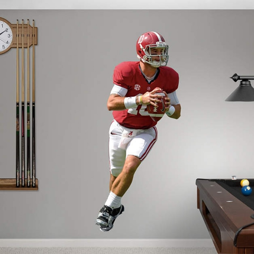 4619c1bbe A.J. McCarron Alabama Crimson Tide REAL.BIG. Fathead