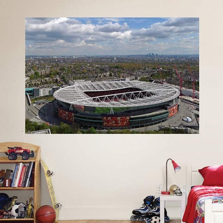 Arsenal Aerial Stadium Mural REAL.BIG. Fathead