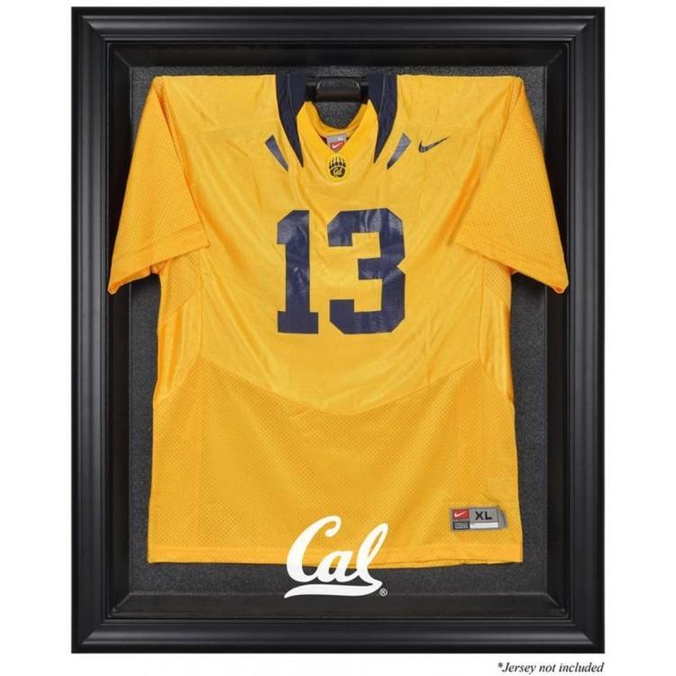 California Bears Black Framed Logo Jersey Display Case
