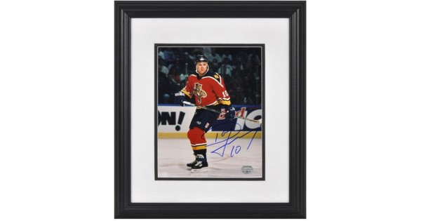 Signed Dave Lowry Photo Framed Red Action1 8x10