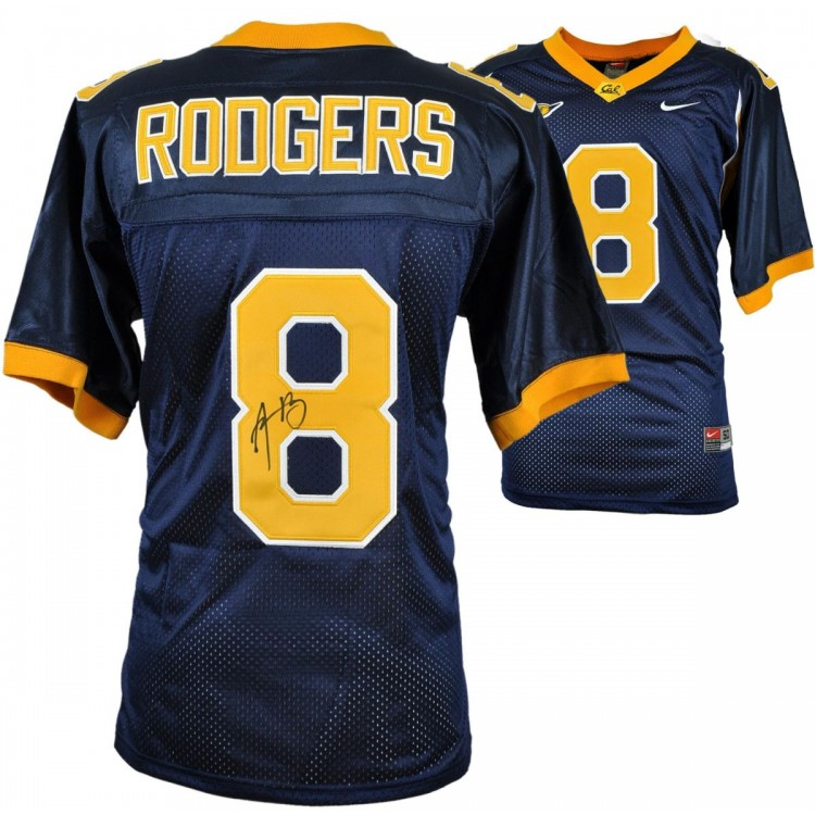 Aaron Rodgers California Golden Bears Navy Nike Jersey