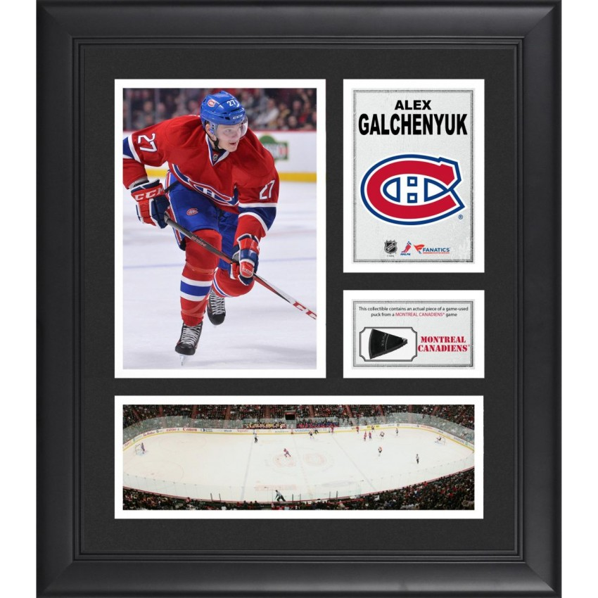 ea753733e Alex Galchenyuk Montreal Canadiens Framed 15
