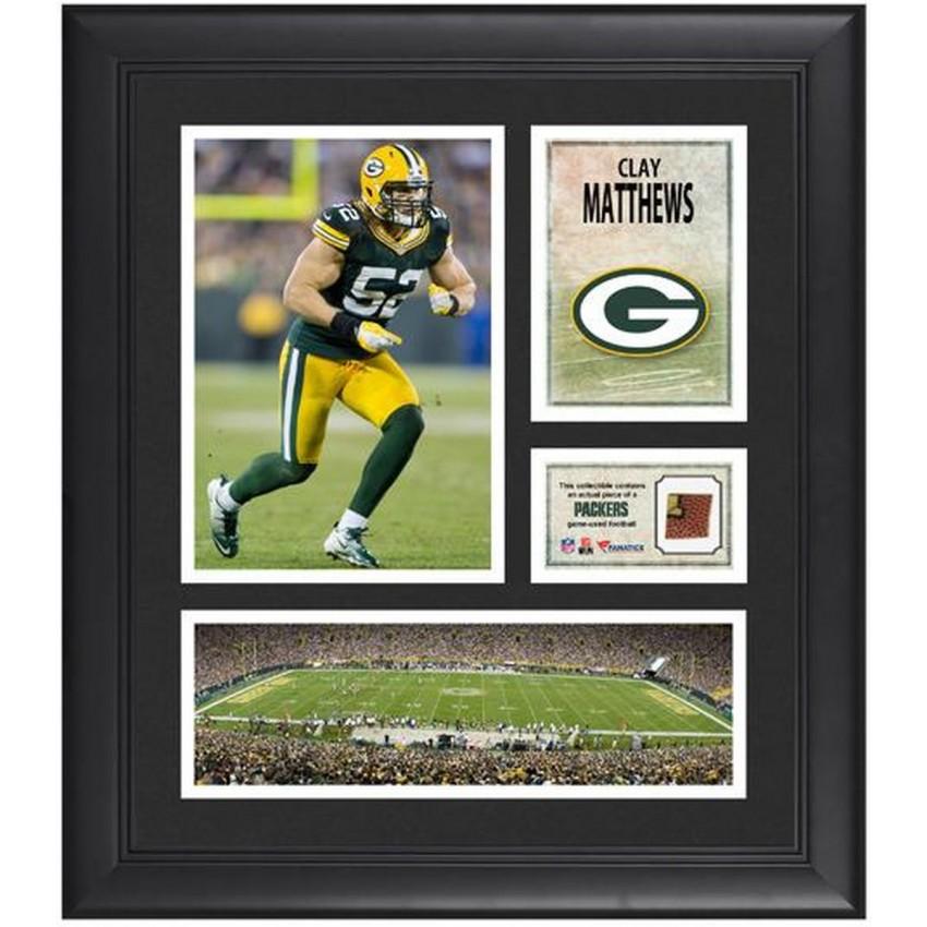 Clay Matthews Green Bay Packers Framed 15\