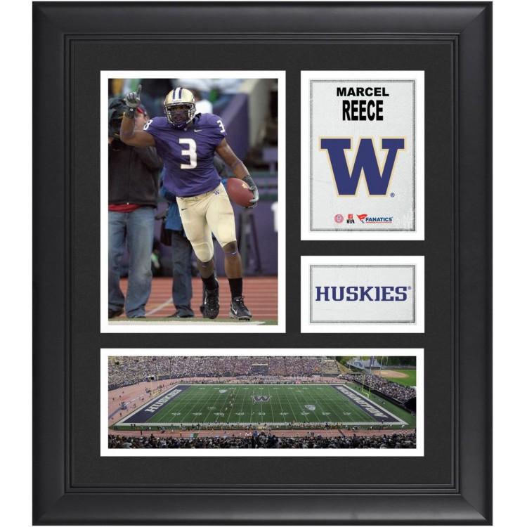 "Marcel Reece Washington Huskies Framed 15"" x 17"" Collage"