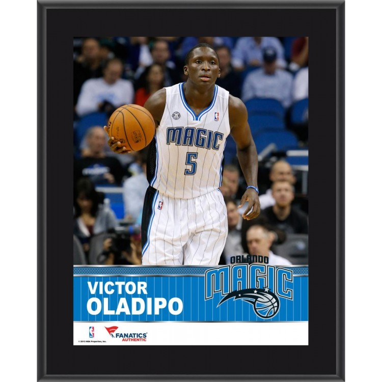 "Victor Oladipo Orlando Magic Sublimated 10.5"" x 13"" Plaque"