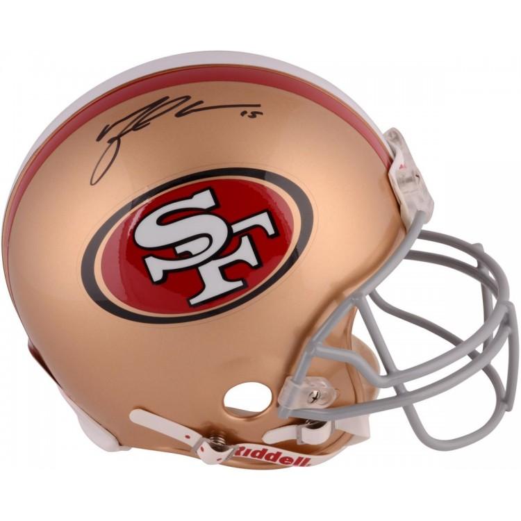 Michael Crabtree San Francisco 49ers Autographed Riddell Pro-Line Authentic Helmet