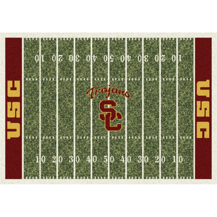 "USC Trojans 5'4""x7'8"" College Home Field Area Rug"