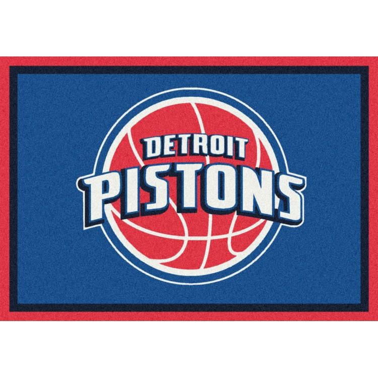 "Detroit Pistons 3'10""x5'4"" NBA Team Spirit Area Rug"