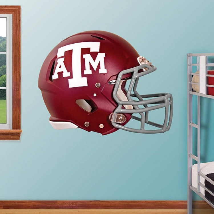 Texas A&M Aggies 2012 Helmet REAL.BIG. Fathead