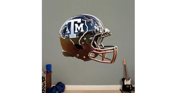 Texas A Amp M Aggies State Helmet Real Big Fathead