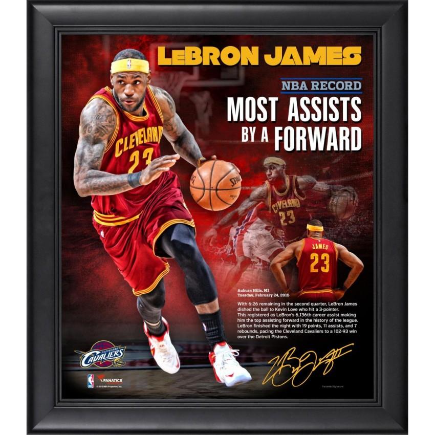 LeBron James Cleveland Cavaliers Framed 15\