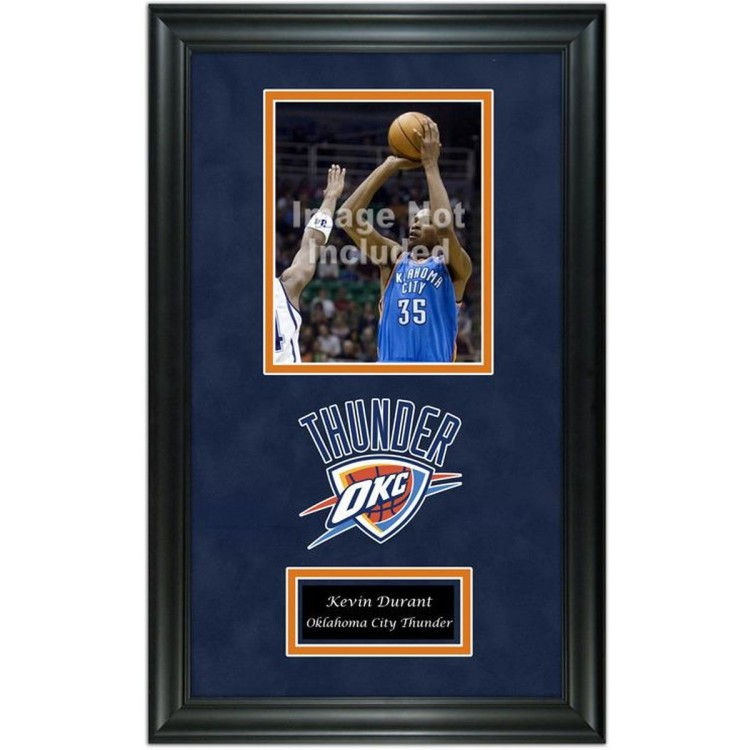 "Oklahoma City Thunder Deluxe 8"" x 10"" Team Logo Frame"