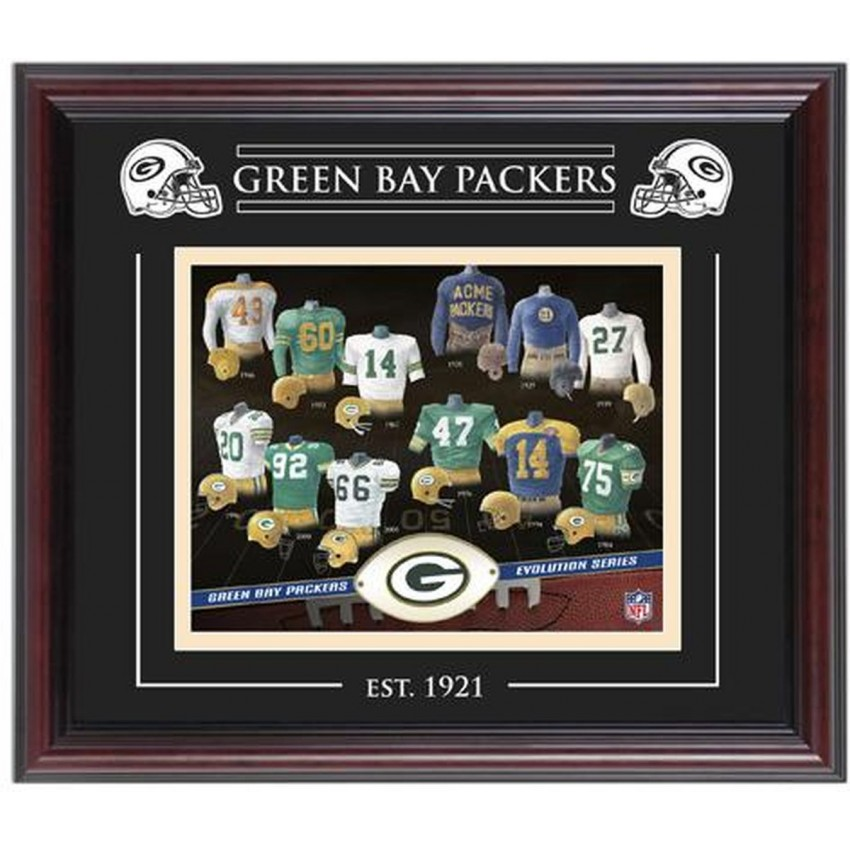 Green Bay Packers Team Evolution 8\