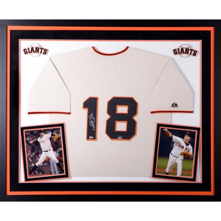 Matt Cain San Francisco Giants Autographed Deluxe Framed Majestic ...