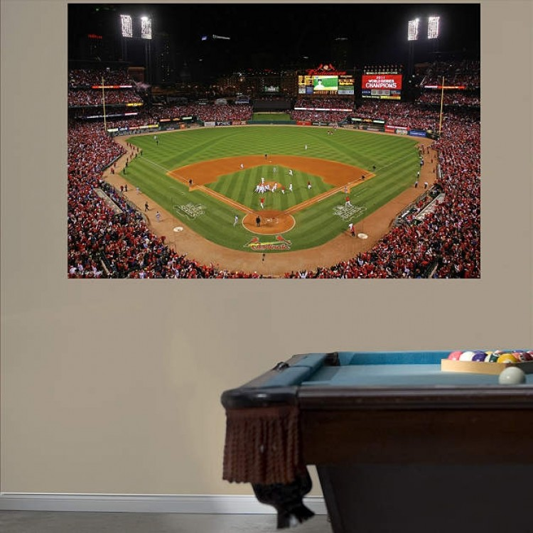 2011 World Series Stadium Mural REAL.BIG. Fathead
