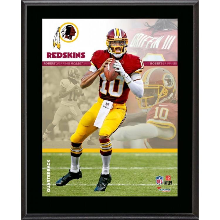 "Robert Griffin III Washington Redskins Sublimated 10.5"" x 13"" Composite Plaque"