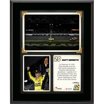 6df517dbbc5 Matt Kenseth 2015 Sprint Unlimited at Daytona International Speedway Race  Winner Sublimated 10.5