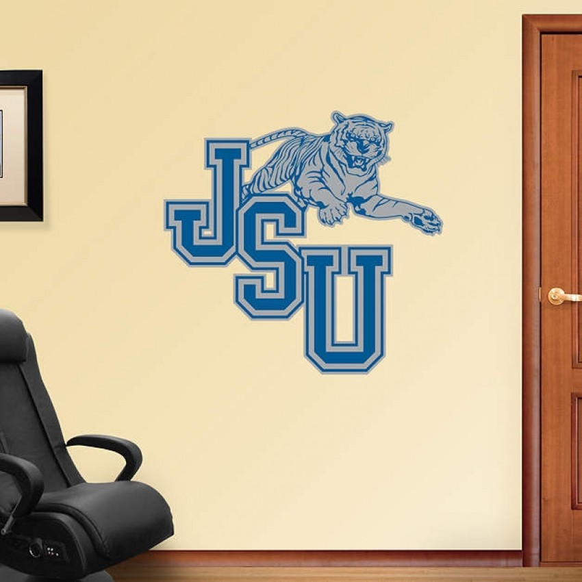 Jackson State University Logo REAL.BIG. Fathead
