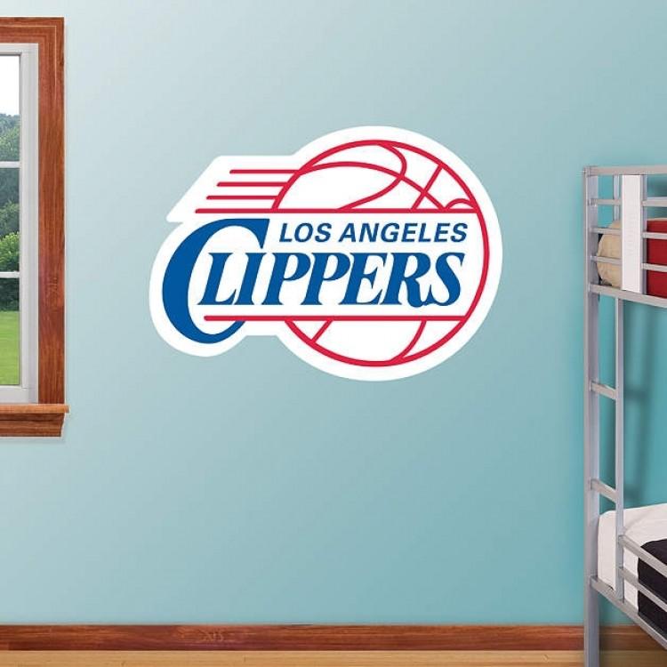 Los Angeles Clippers 2010 Logo REAL.BIG. Fathead
