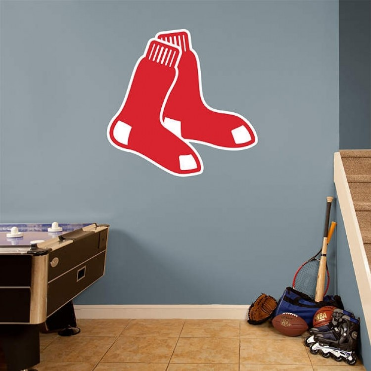2009 Red Sox Logo REAL.BIG. Fathead