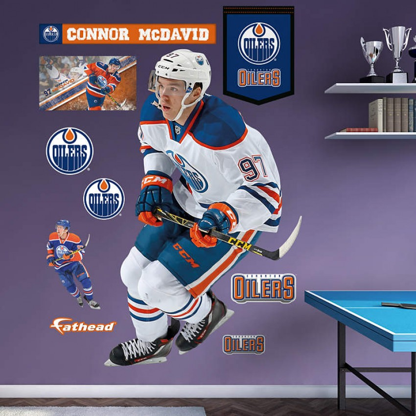 Connor mcdavid edmonton oilers real big fathead