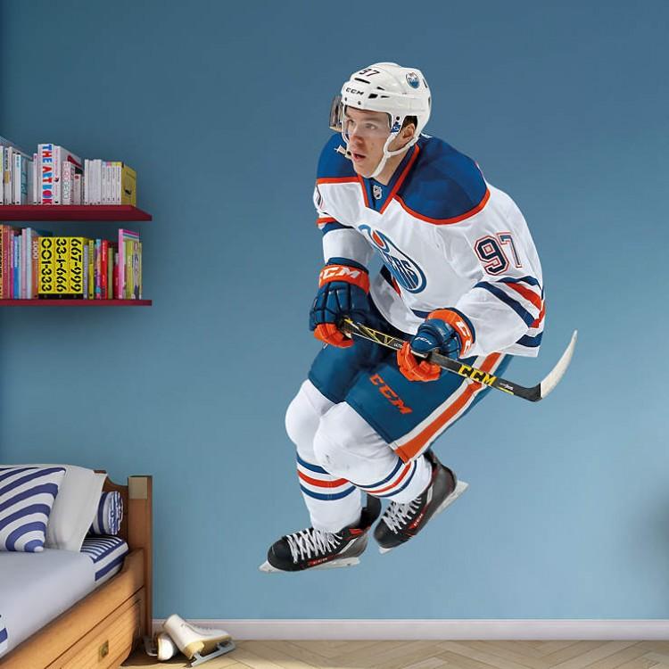Connor McDavid - Edmonton Oilers REAL.BIG. Fathead