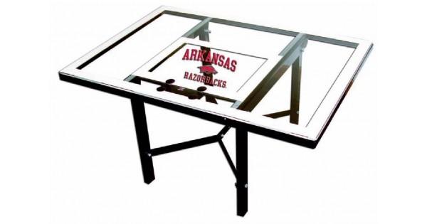 Arkansas Razorbacks Backboard Coffee Table