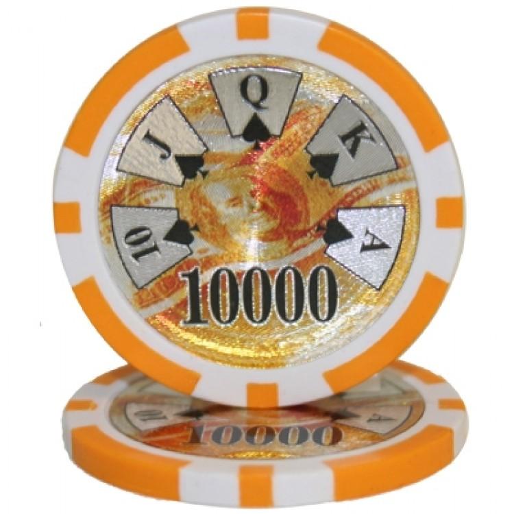 Roll of 25 - Ben Franklin 14 gram - $10,000