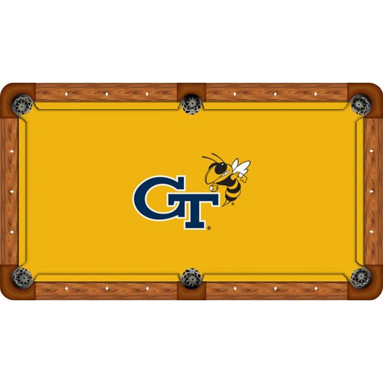 Georgia Tech 8' Billiard Table Felt - Recreational