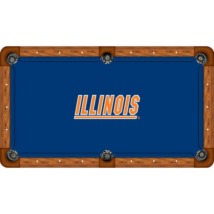Illinois 7' Billiard Table Felt - Professional