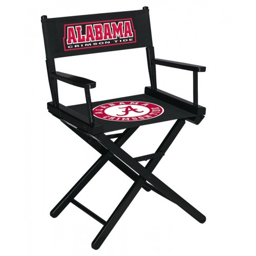 alabama crimson tide table height directors chair