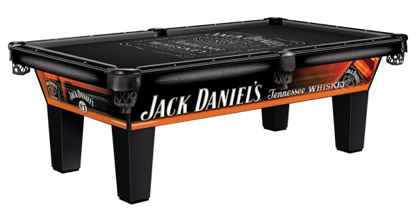 Jack Daniels Tennessee Whiskey Pool Table 8 Ft