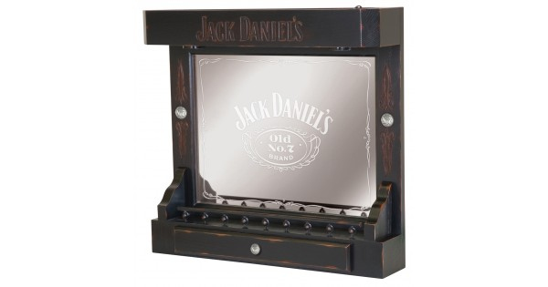 Jack Daniels Back Bar Tn Charcoal Finish