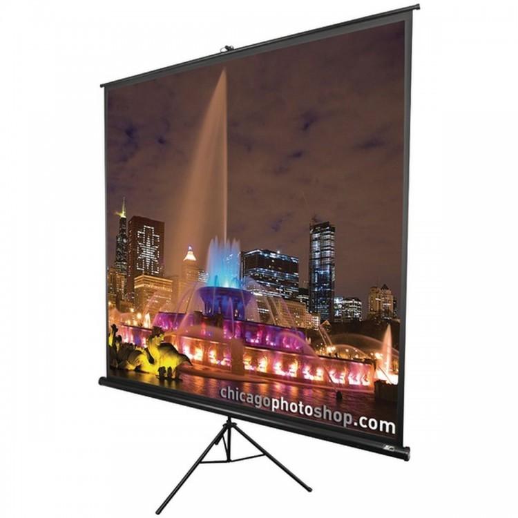"ELITE SCREENS T60UWH Tripod Series Projection Screen (16:9 HDTV Format; 60""; 29"" x 50"")"