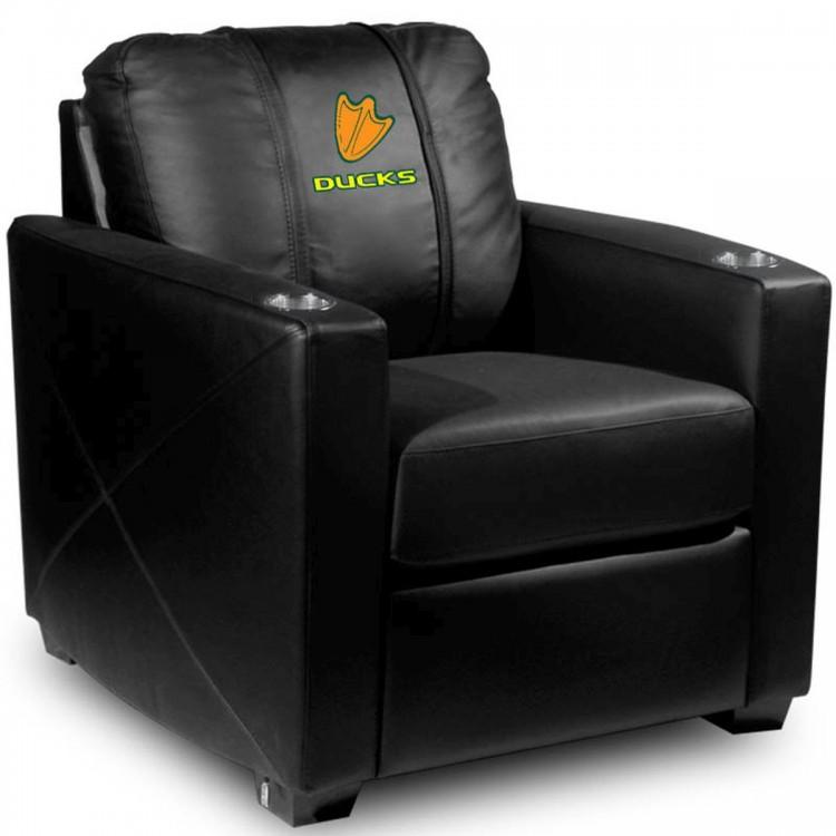 Oregon Ducks Silver Chair