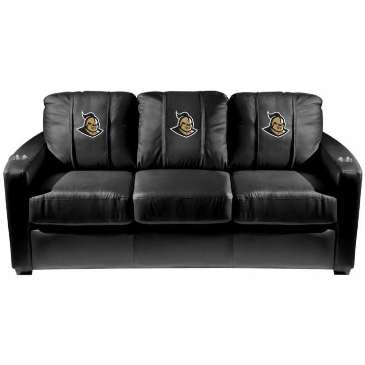 Central Florida Knights Silver Sofa