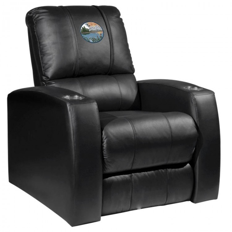 Mountain Background Home Theater Recliner