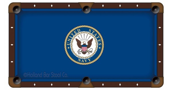 U S Navy 7 Pool Table Cloth