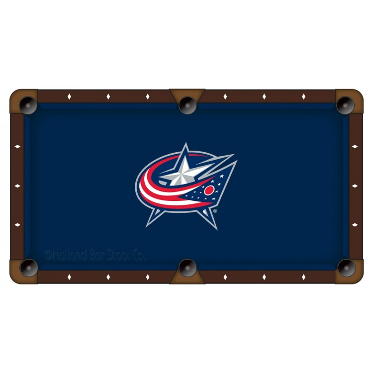 Columbus Blue Jackets 8' Pool Table Cloth