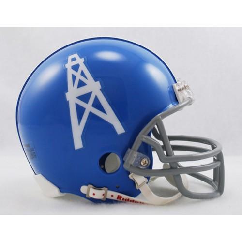 18c287d0acd Houston Oilers 1960-1963 Throwback Riddell Mini Football Helmet