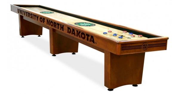 North Dakota Sioux 14 Shuffleboard Table