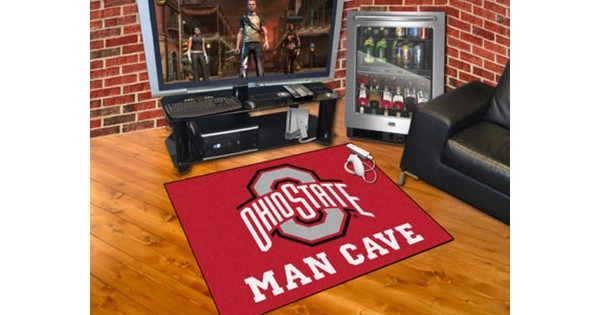 Ohio State Man Cave Furniture : Ohio state buckeyes man cave all star rug