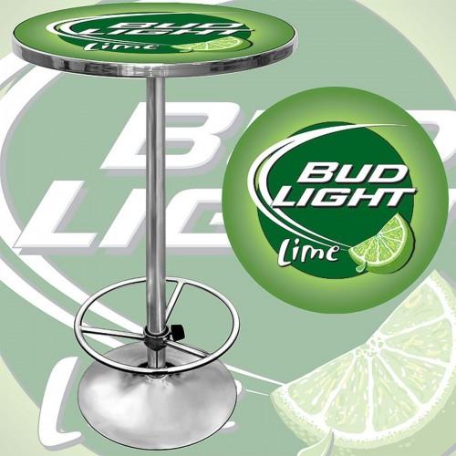 Beer branded pub tables bud light lime pub table watchthetrailerfo