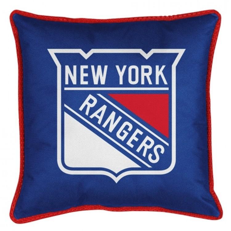 New York Rangers Sidelines Pillow