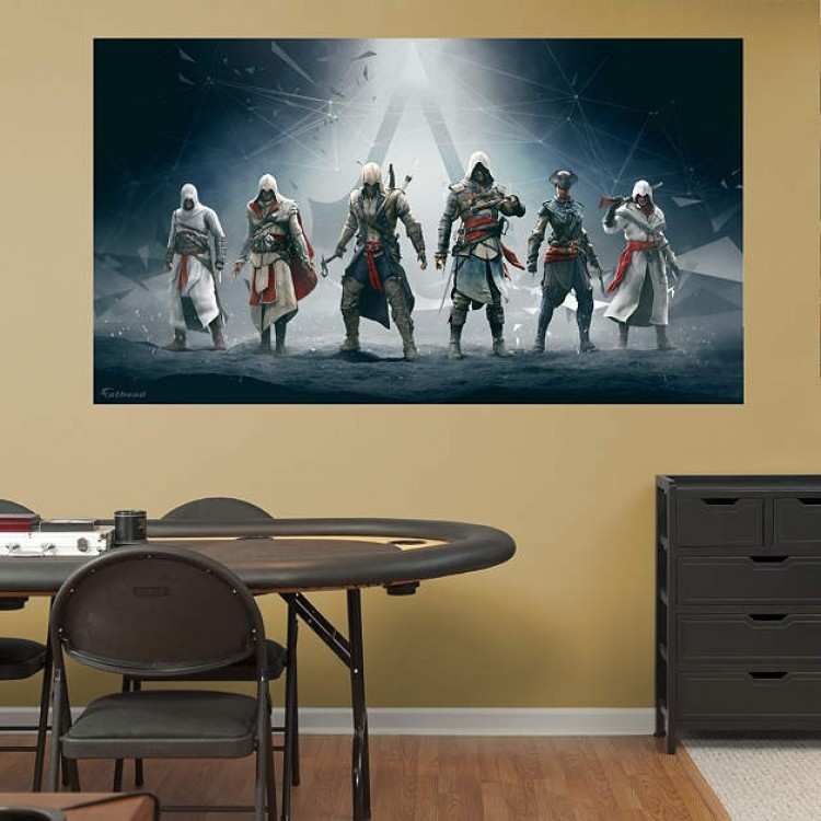 Assassin's Creed Legacy Mural REAL.BIG Fathead