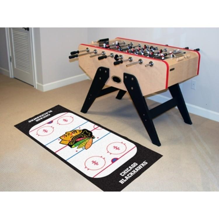Chicago Blackhawks Ice Rink Runner