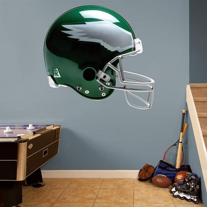 size 40 a0a0c 3dd58 Philadelphia Eagles Throwback Helmet REAL.BIG. Fathead