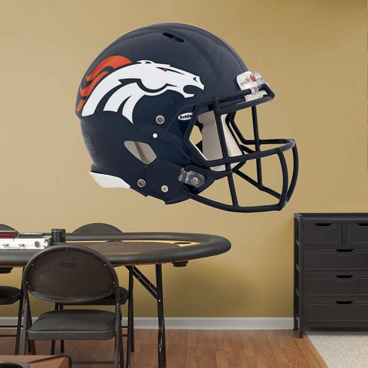 Denver Broncos Revolution Helmet REAL.BIG. Fathead